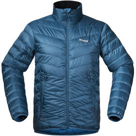 Bergans M's Down Light Jacket Steel Blue